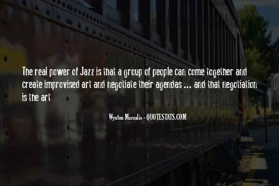 Wynton Marsalis Quotes #485601