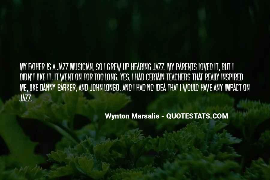 Wynton Marsalis Quotes #56319