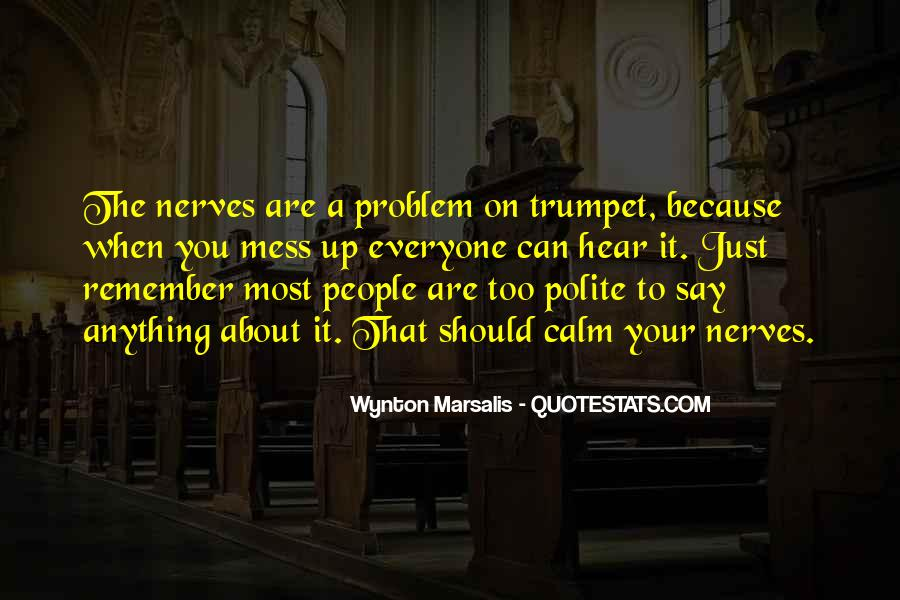 Wynton Marsalis Quotes #915094