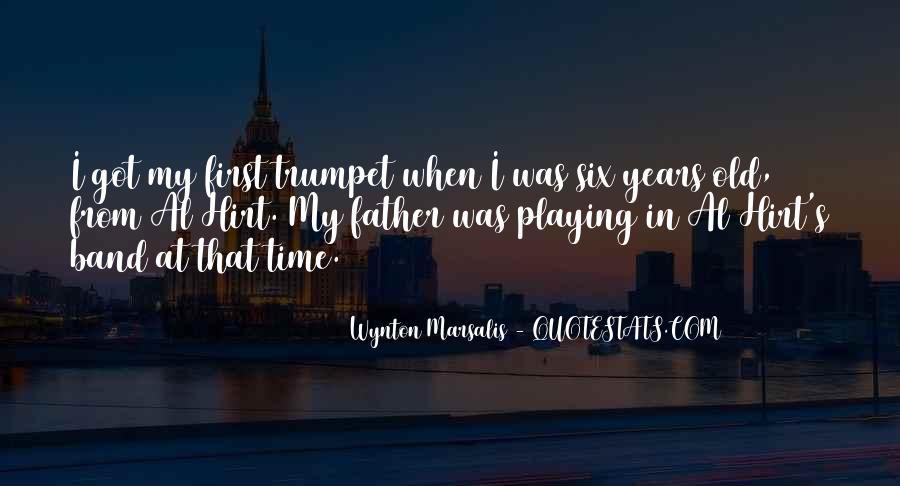Wynton Marsalis Quotes #98759