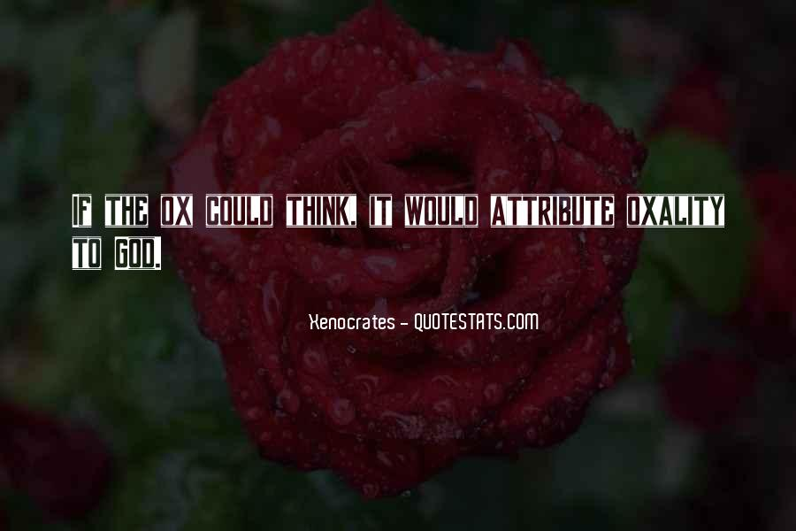 Xenocrates Quotes #1114347