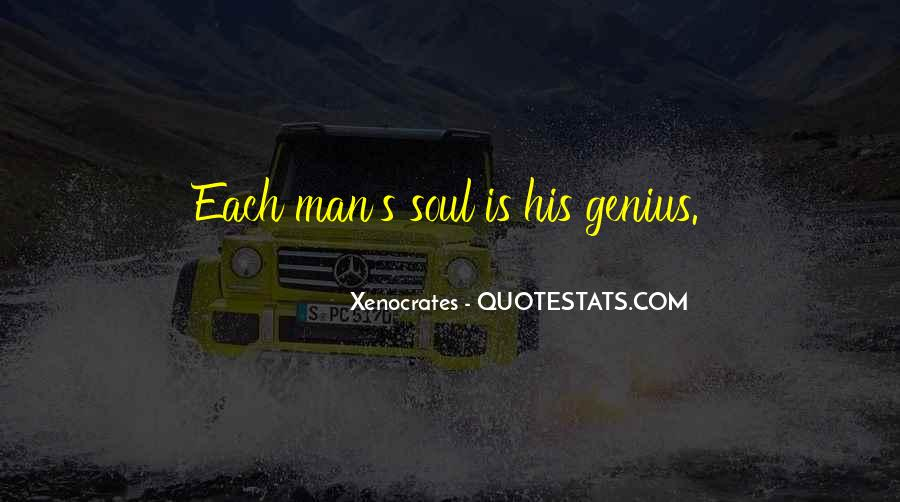 Xenocrates Quotes #320482