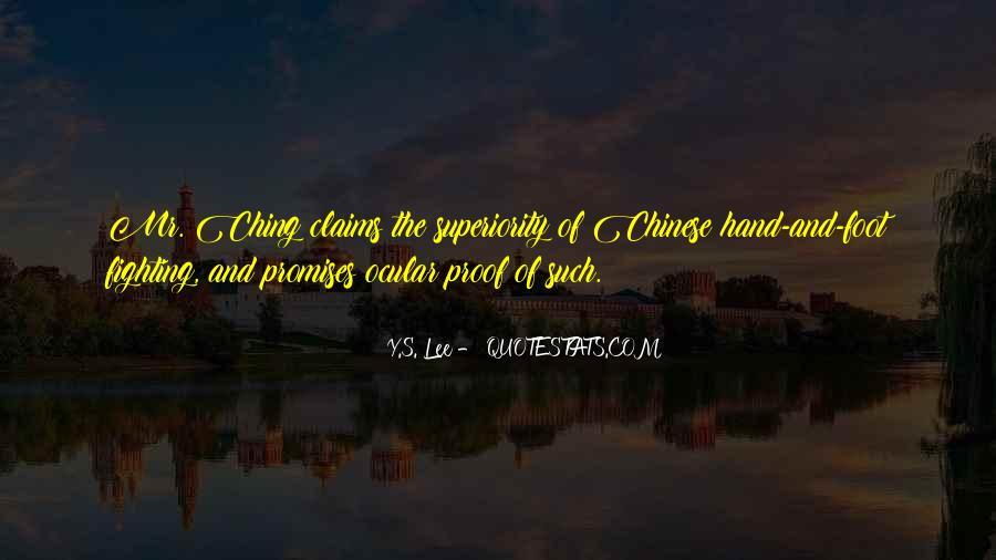 Y.S. Lee Quotes #109013