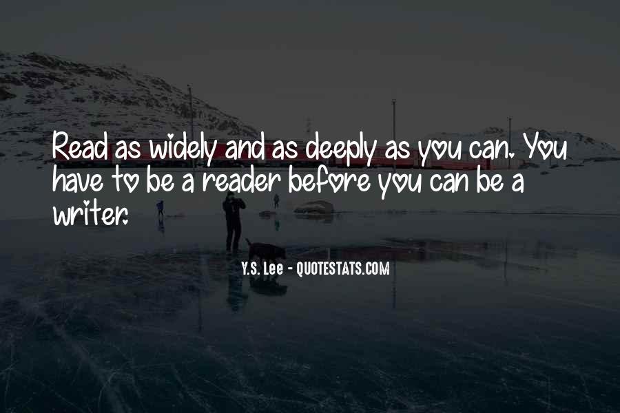 Y.S. Lee Quotes #675534
