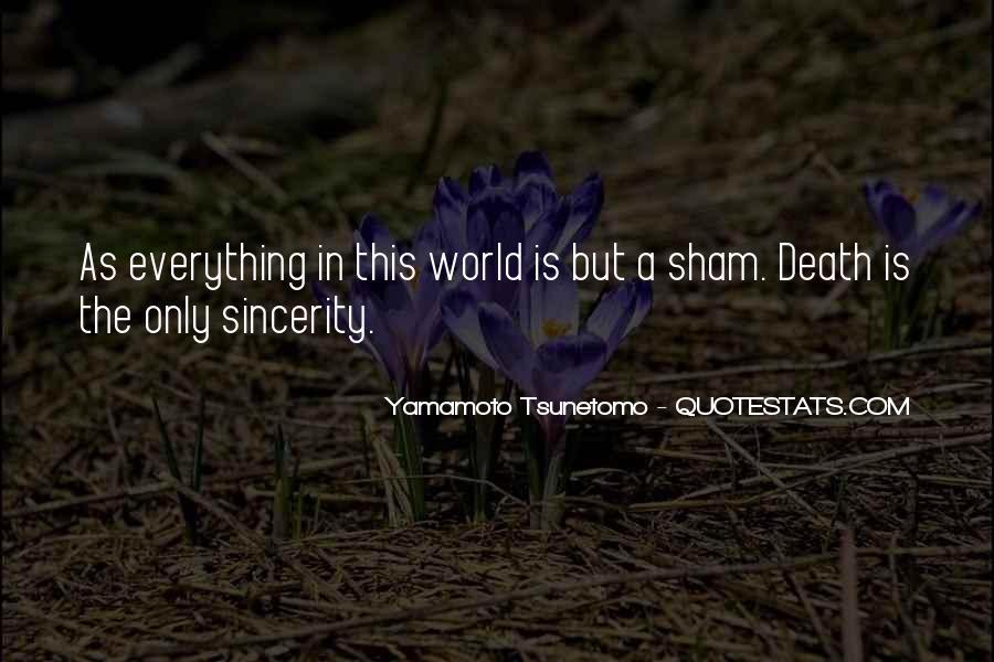 Yamamoto Tsunetomo Quotes #1864818