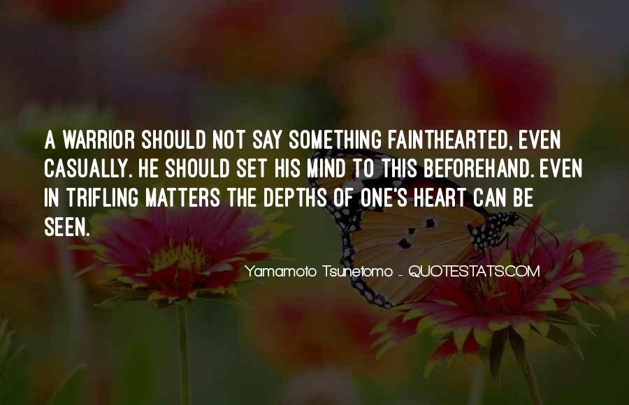Yamamoto Tsunetomo Quotes #767456