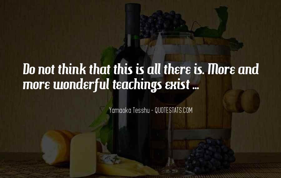 Yamaoka Tesshu Quotes #132265