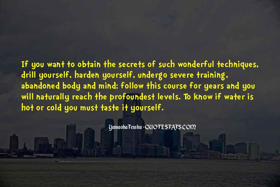 Yamaoka Tesshu Quotes #423620