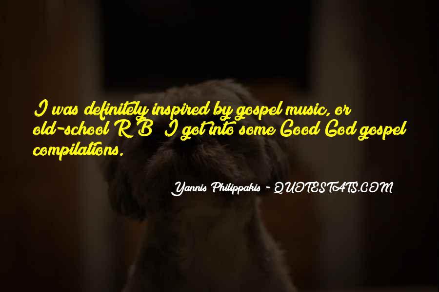 Yannis Philippakis Quotes #1316910