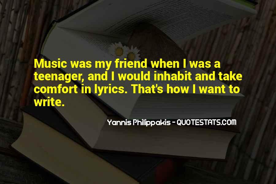 Yannis Philippakis Quotes #733616