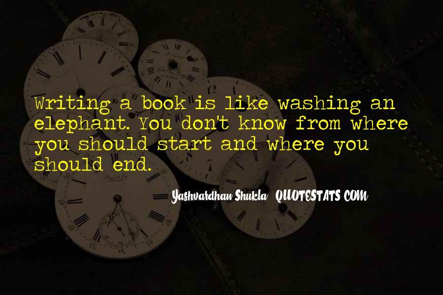 Yashvardhan Shukla Quotes #1218640