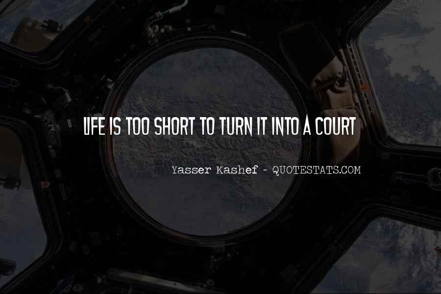 Yasser Kashef Quotes #30518