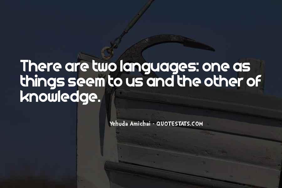 Yehuda Amichai Quotes #139031