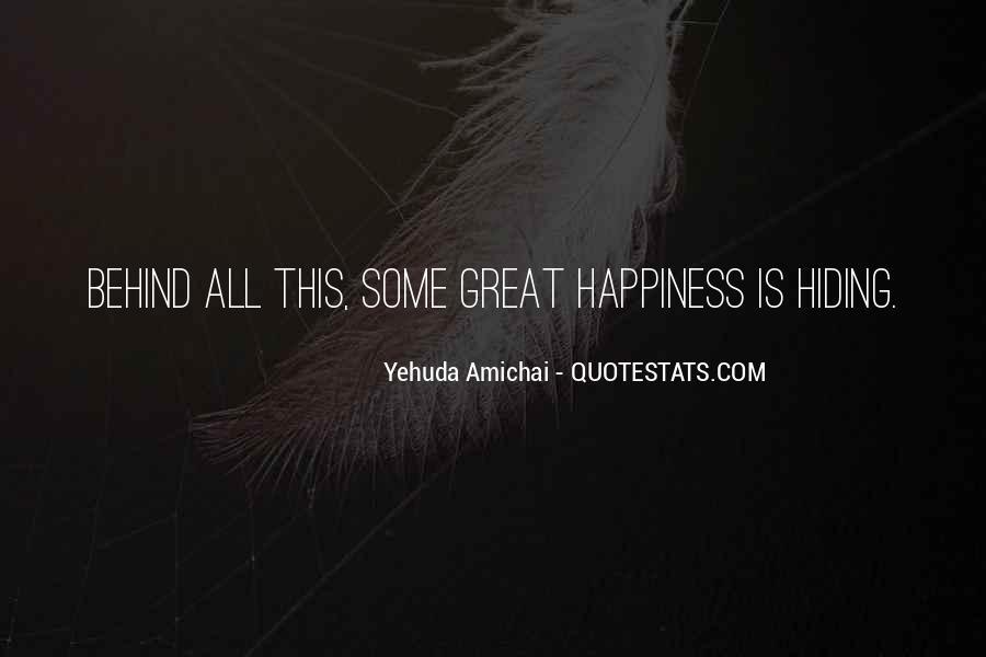 Yehuda Amichai Quotes #1393361