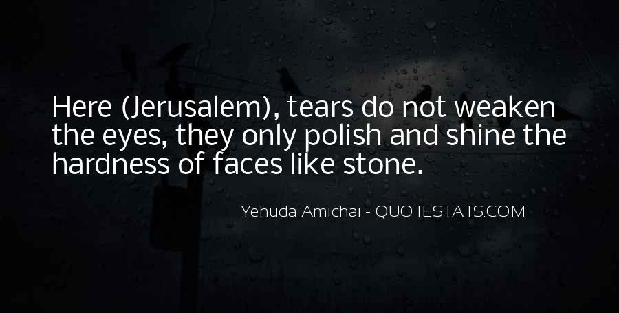 Yehuda Amichai Quotes #1502429
