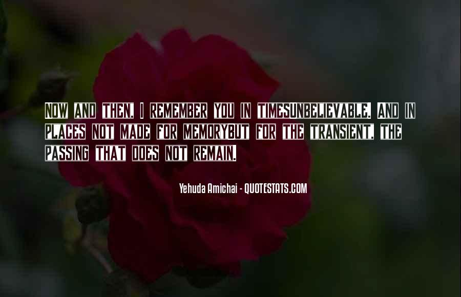 Yehuda Amichai Quotes #487481