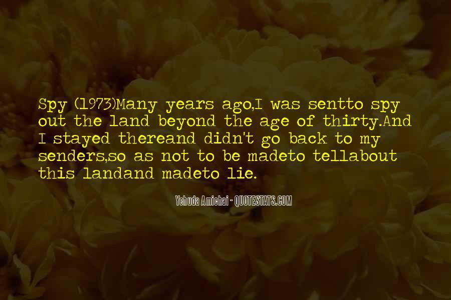 Yehuda Amichai Quotes #81508