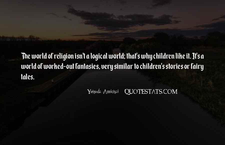 Yehuda Amichai Quotes #905559