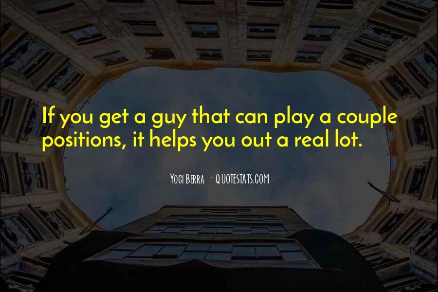 Yogi Berra Quotes #1117501