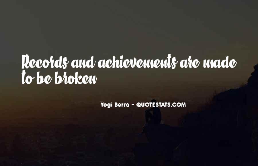 Yogi Berra Quotes #1223558