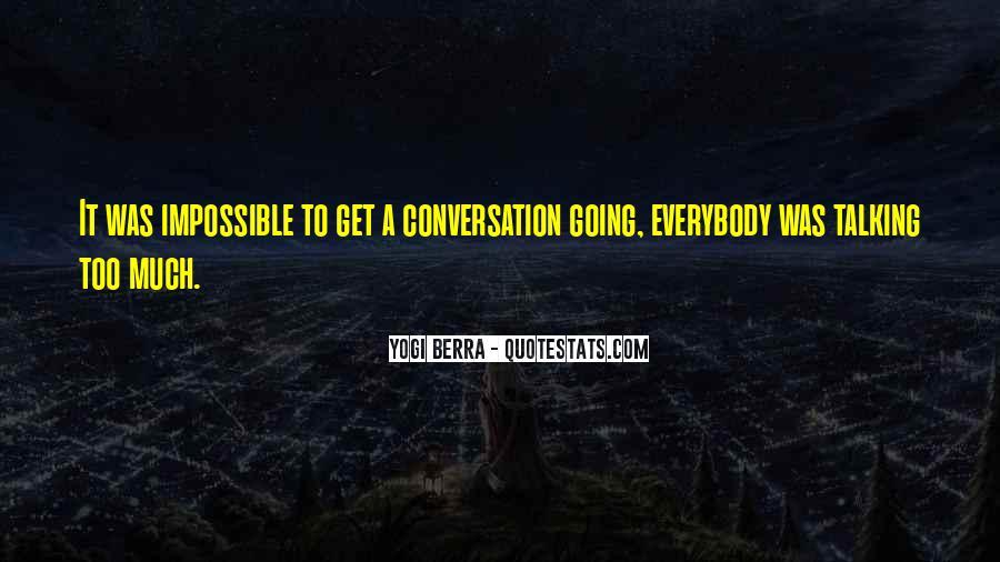Yogi Berra Quotes #1284641