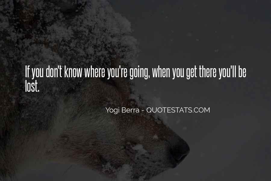 Yogi Berra Quotes #1309268