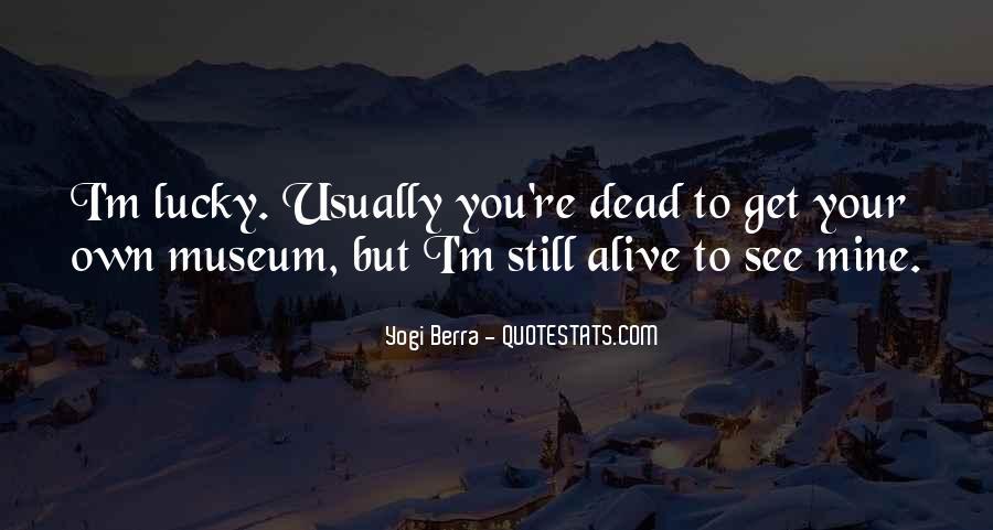 Yogi Berra Quotes #1533872