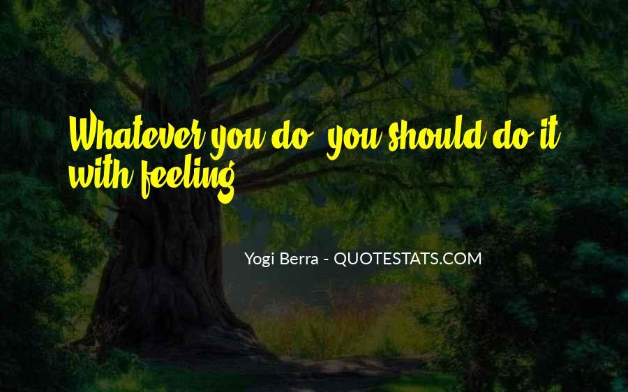 Yogi Berra Quotes #1745433