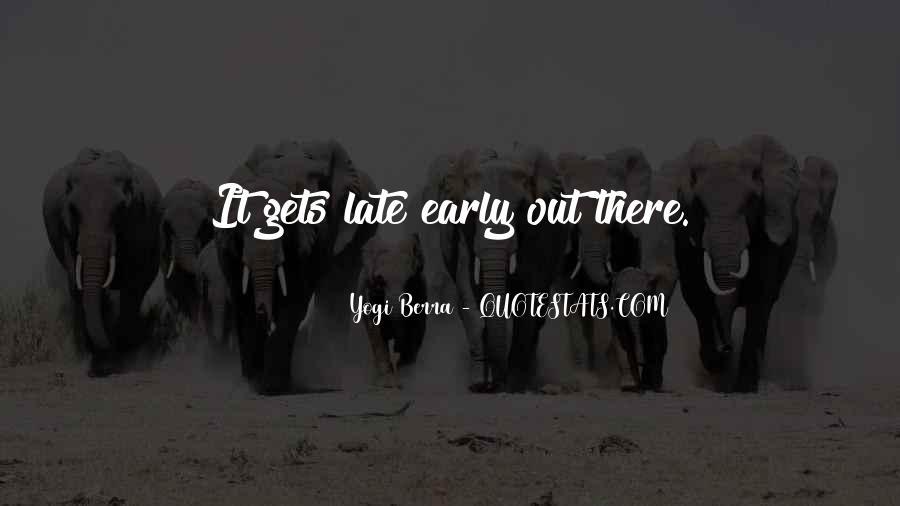 Yogi Berra Quotes #223880