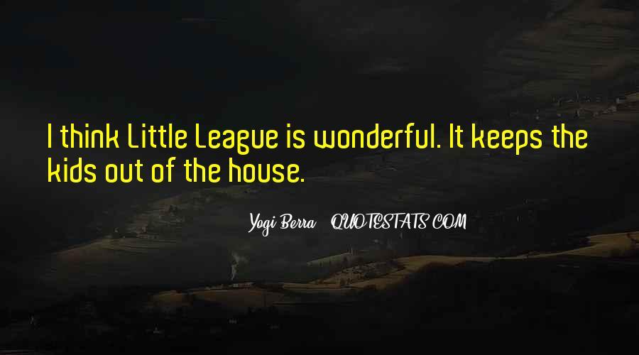 Yogi Berra Quotes #261389