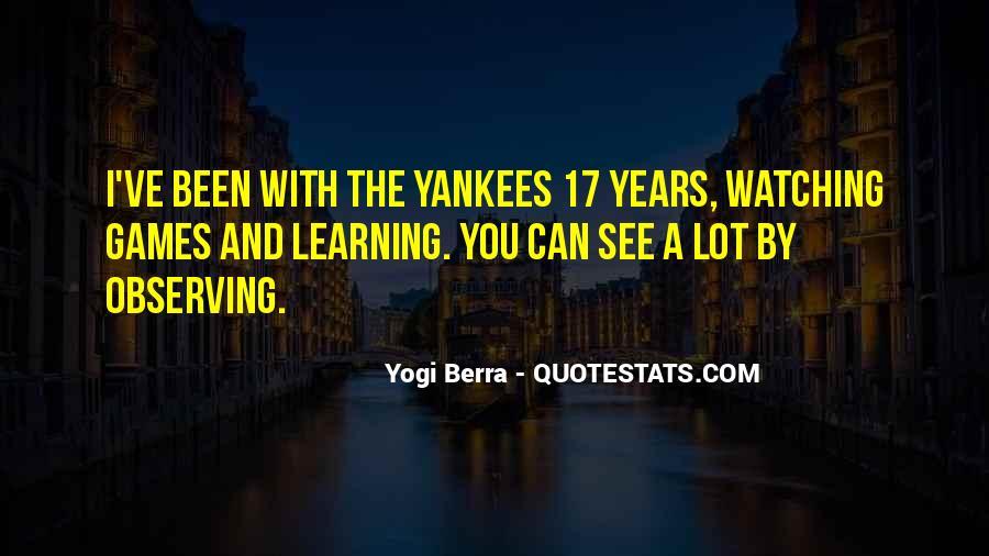 Yogi Berra Quotes #434225
