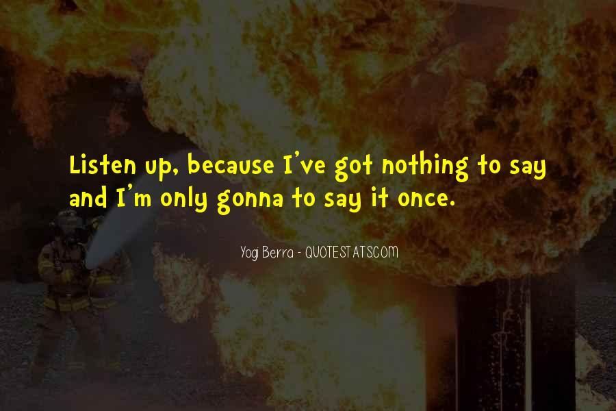 Yogi Berra Quotes #475207