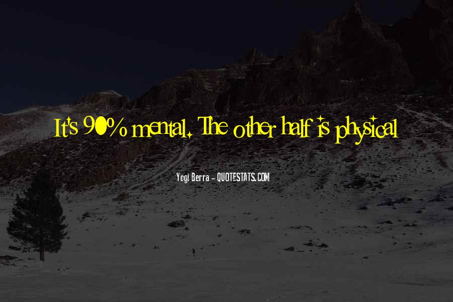 Yogi Berra Quotes #635933