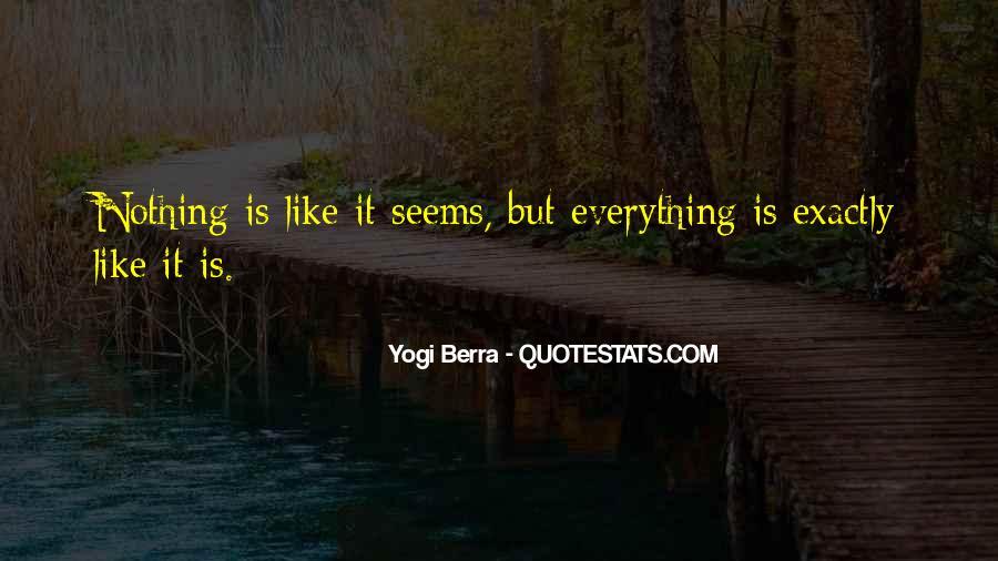 Yogi Berra Quotes #812333
