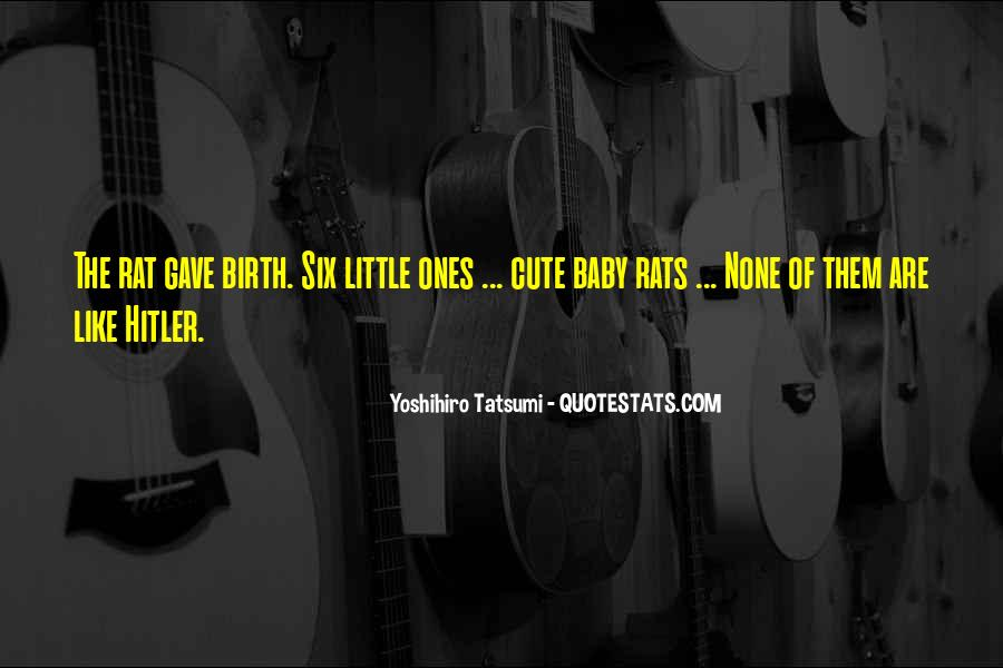 Yoshihiro Tatsumi Quotes #1078247