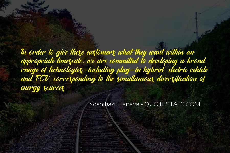 Yoshikazu Tanaka Quotes #27793