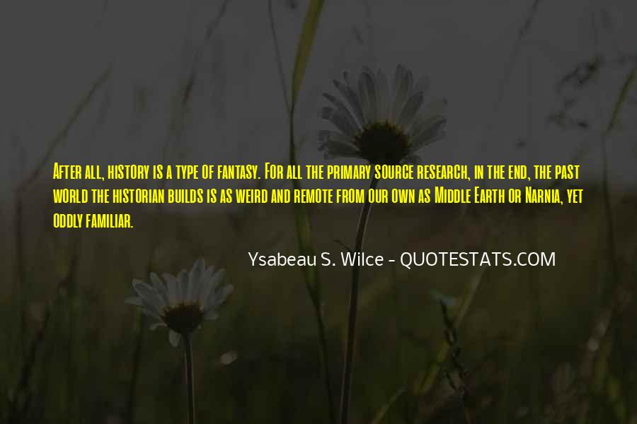 Ysabeau S. Wilce Quotes #1113111