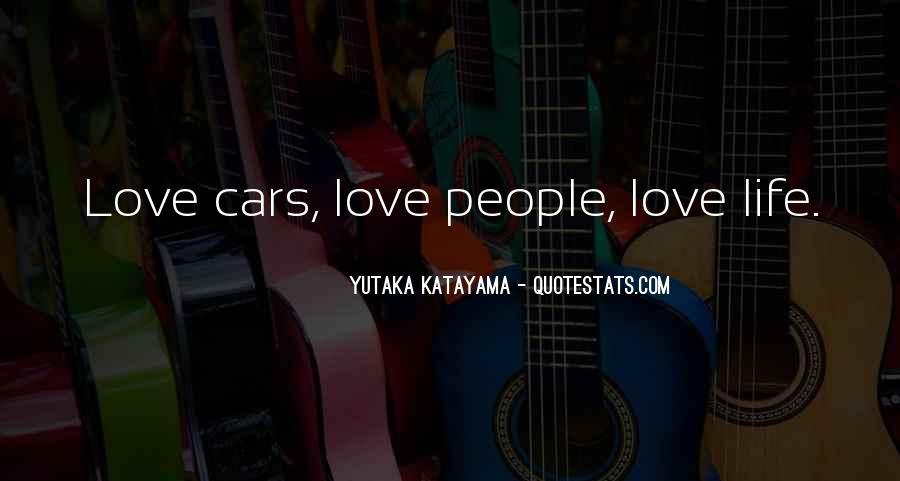 Yutaka Katayama Quotes #288639