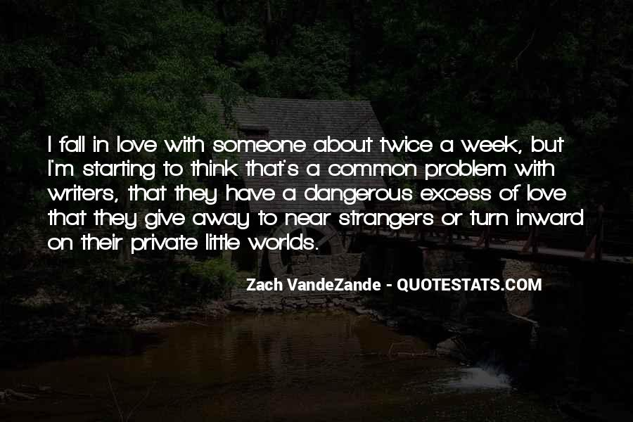 Zach VandeZande Quotes #212289