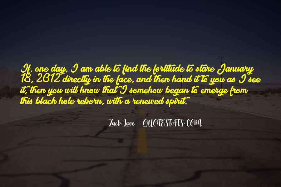 Zack Love Quotes #138315