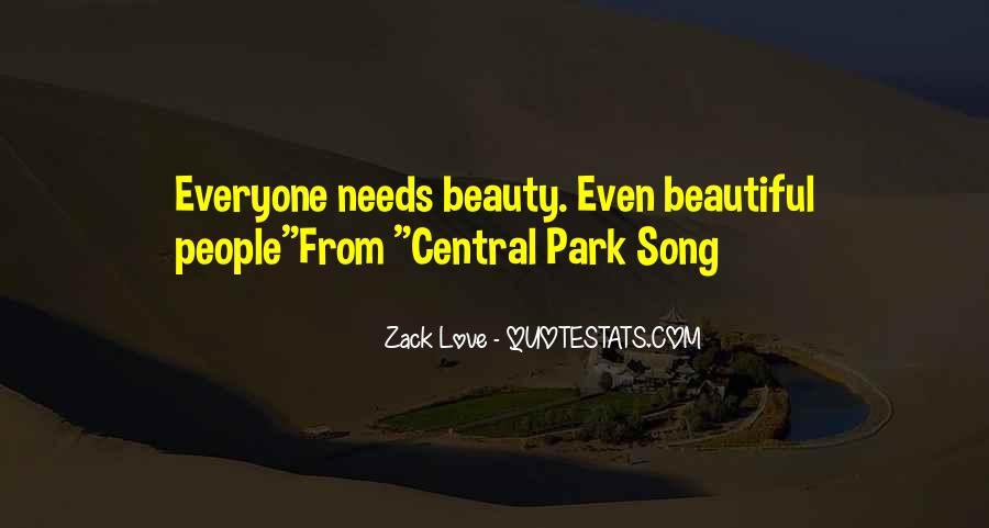 Zack Love Quotes #1756951