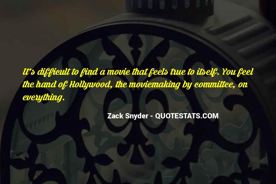 Zack Snyder Quotes #1063546