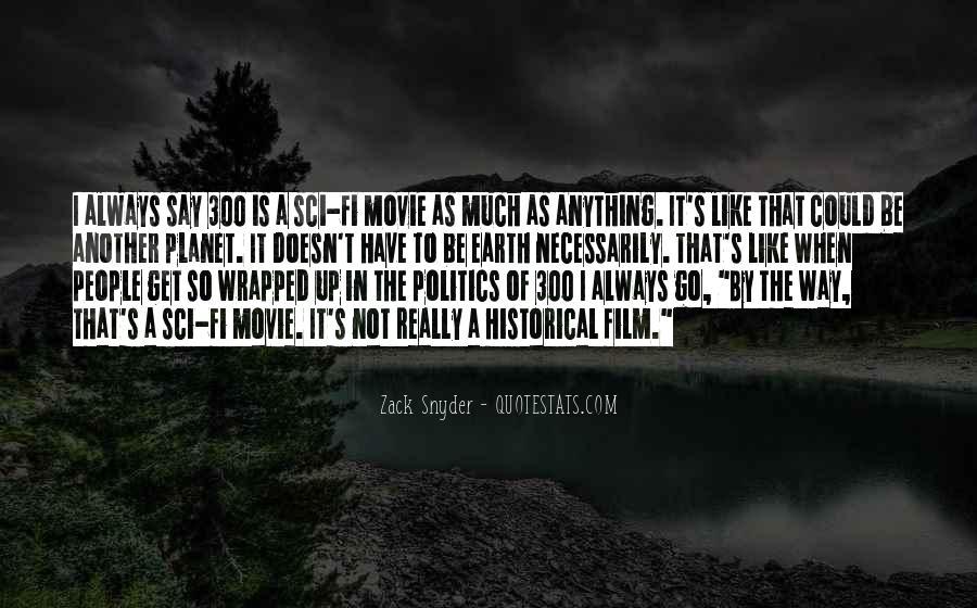 Zack Snyder Quotes #1163061