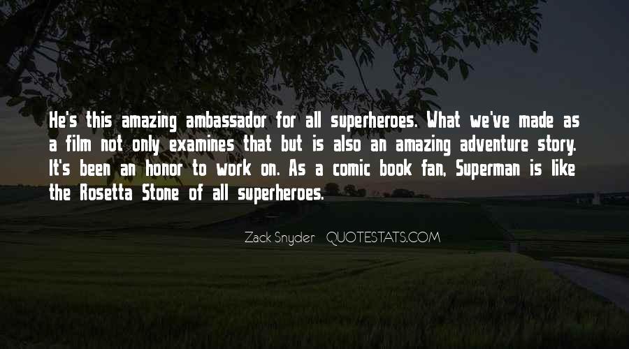 Zack Snyder Quotes #1844169