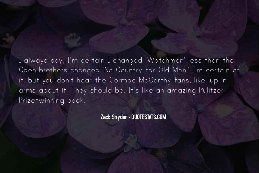 Zack Snyder Quotes #338913