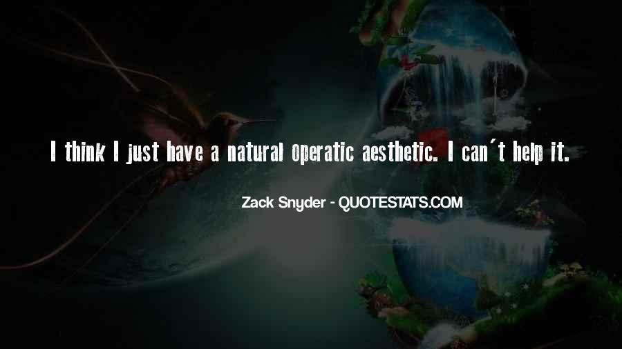 Zack Snyder Quotes #366543