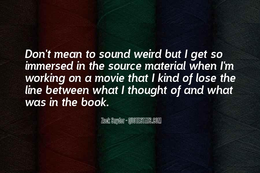 Zack Snyder Quotes #381083