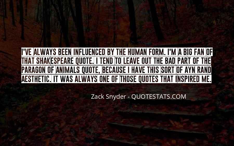 Zack Snyder Quotes #438041