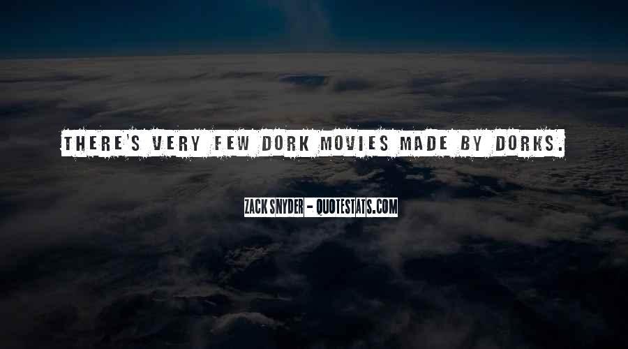 Zack Snyder Quotes #468065