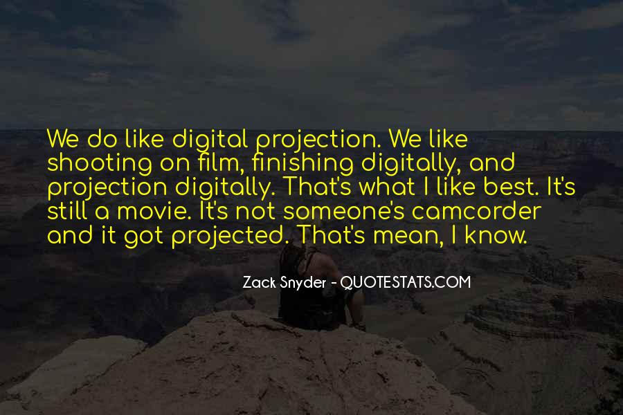 Zack Snyder Quotes #510344